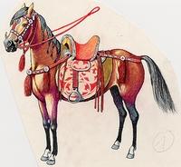 Ősmagyar lófelszerelés 900