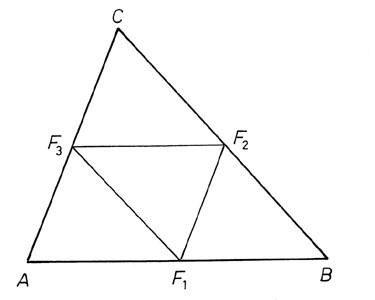 A háromszög középvonalai- ábra