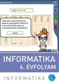 Informatika 6. évfolyam
