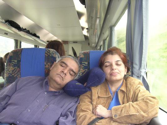 Kényelem a vonaton