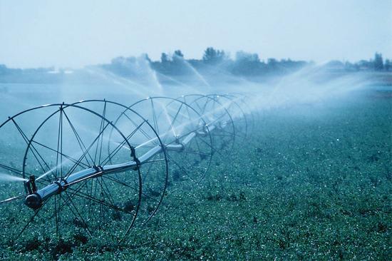 Mezőgazdasági öntöző rendszer