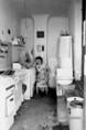 Kaszásdülői lakásbelső 1981-ben