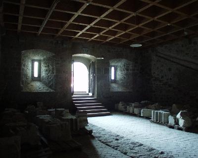 A visegrádi királyi palota - présház
