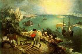 Pieter Bruegel: Daidalosz és Ikarosz