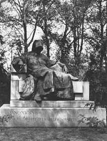 Ligeti Miklós: Anonymus-szobor