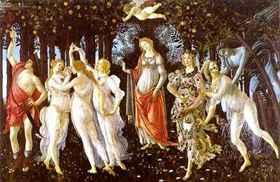 Botticelli: Tavasz