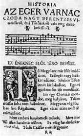 Tinódi históriás könyvének egyik lapja