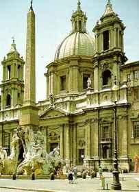 Francesco Borromini: Szent Ágnes templom