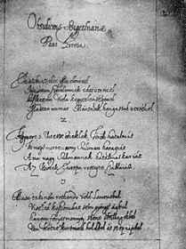 Zrínyi Miklós: Szigeti veszedelem kézirata