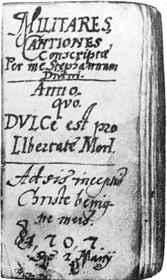 Kéziratos kuruc vers