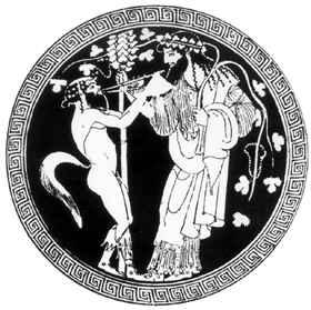 Pán és Dionüszosz