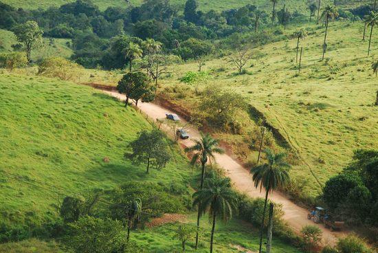 Brazil-felföld: Minas Gerais
