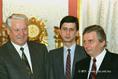 B. Jelcin és Antall József
