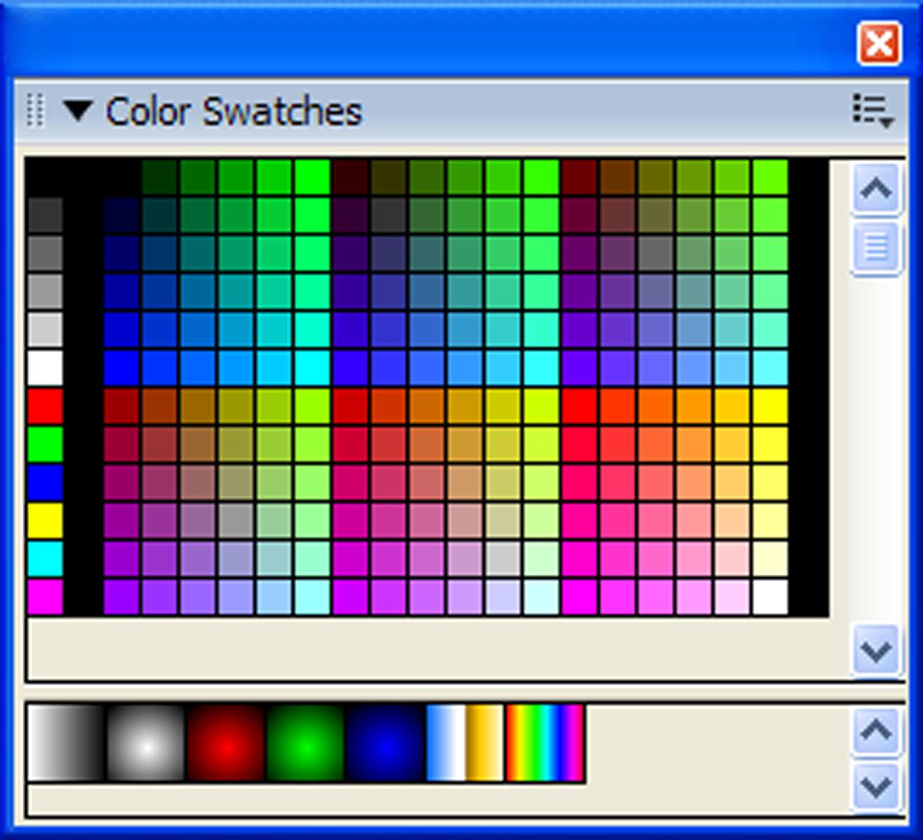 Átlátszó színkód