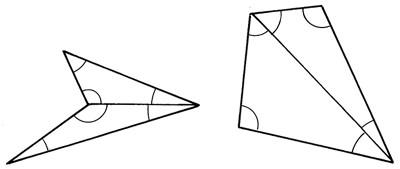 Négyszögek belső szögei