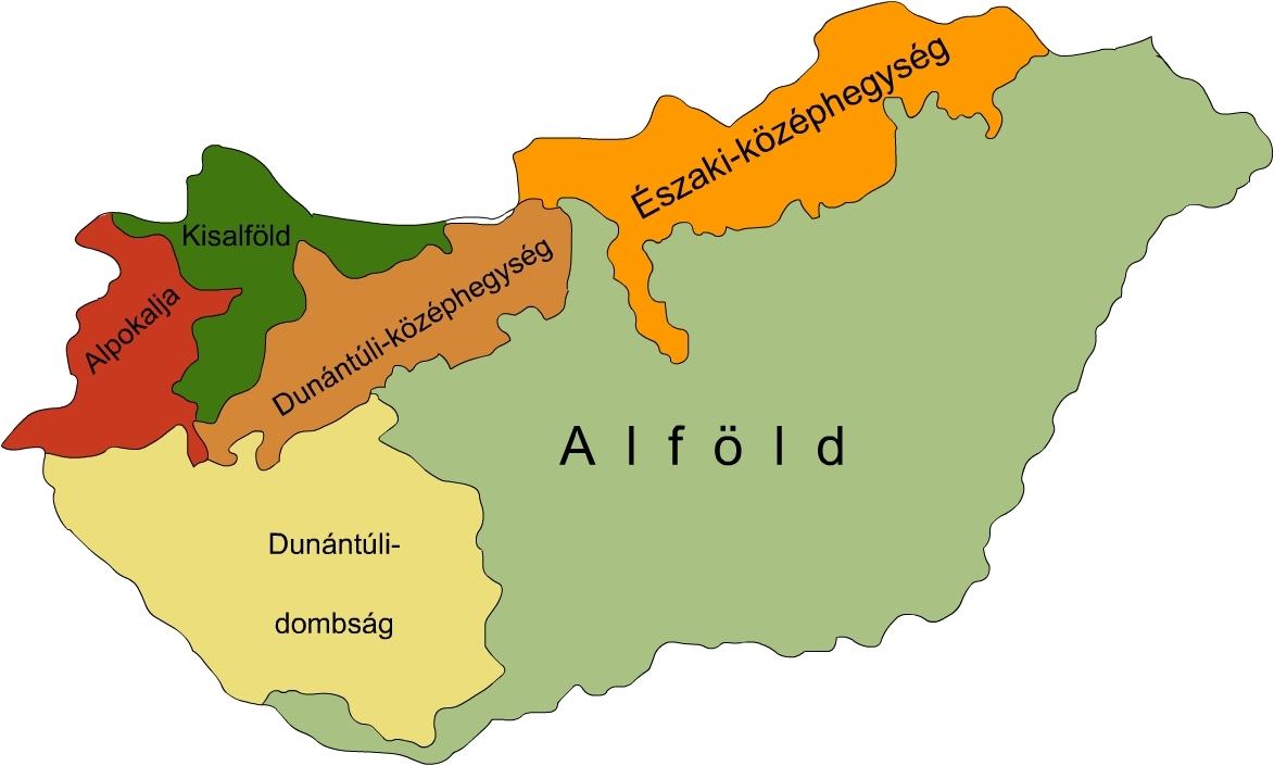 magyarország térkép alföld Ember a természetben   4. osztály | SuliTudásbázis magyarország térkép alföld