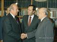 G. Shultz az USA külügyminisztere és Kádár János