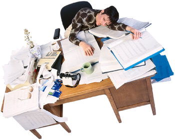 A stressz, a kimerültség alvászavarokhoz vezethet