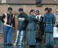 A romák várják a segélyt