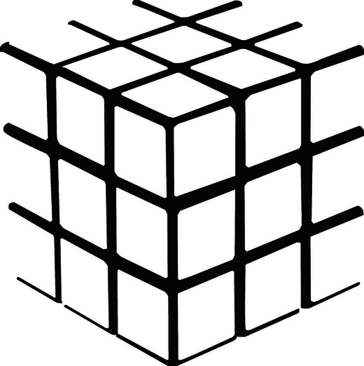 Cube_vector_outline_by_13luemoons