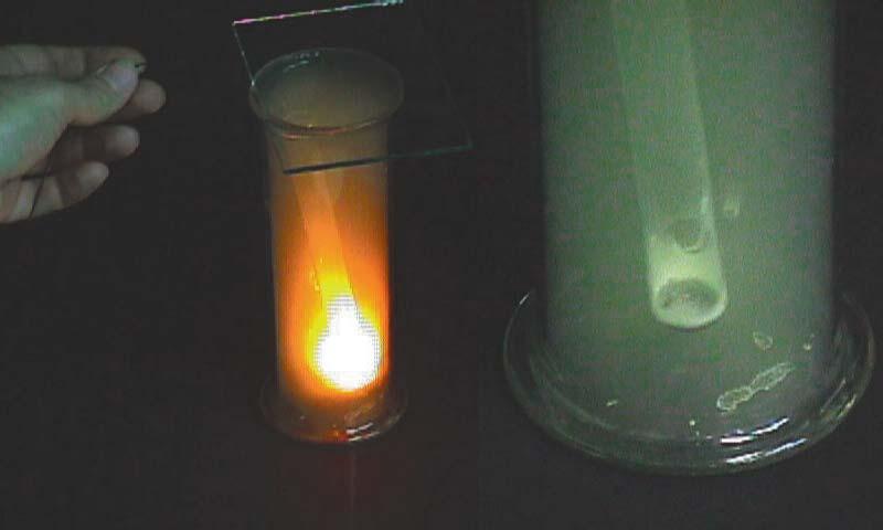 Hidrogén és klór reakciója