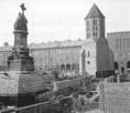 Szegeden az ünnepi játékok Dóm téri színpadának újjáépítése