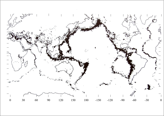 Földrengési gócpontok