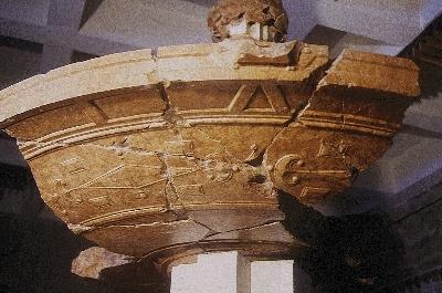 A visegrádi királyi palota - Herkules kút