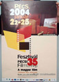 Pécsi filmszemle plakátja