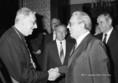 Dr. Paskai László és Miklós Imre az érseki palotában