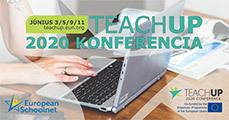 Csatlakozzon a TeachUP 2020 konferenciához!
