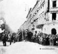 Háborús bűnösök kivégzése az Oktogonon