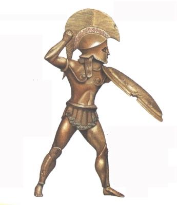 Görög hoplita harcos