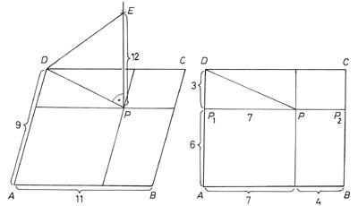 Megfelelő derékszögű háromszögek