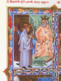 István és Gellért találkozása