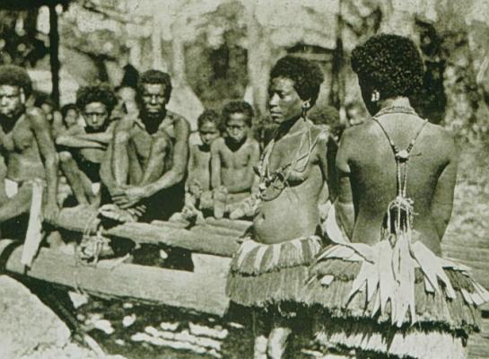 A Trobriand-szigetek lakói