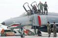 Repülőgép kereszt-kiszolgálási gyakorlaton egy török F-4 es vadászrepülőgép