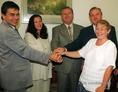 Amerikai gazdasági szakemberek Magyarországon