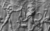 Közép-asszír pecséthenger lenyomatok