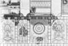 Közép-asszír falfestmény-részlet