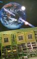 A KFKI-ban az üstökös vizsgálatára kifejlesztett leszálló egység központi számítógépének egyik kártyája