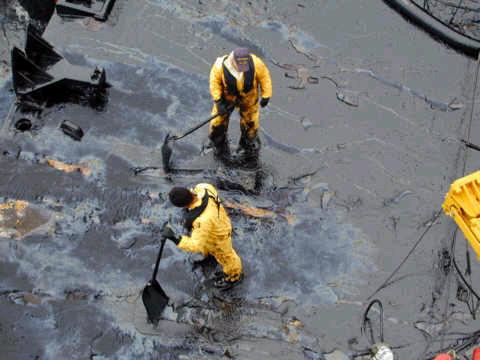 Tankhajó katasztrófa
