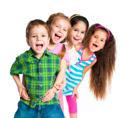 laughing_small_kids_on_a_white_background_converte
