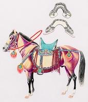 Ősmagyar lófelszerelés 896