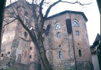 A selmecbányai plébániatemplom szentélye
