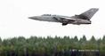 Magyar-svéd-brit közös repülőkiképzésen egy brit Tornado F3 típusú vadászrepülő