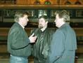 A reprezentatív szakszervezetek képviselői a vasutassztrájk idején, 1995-ben