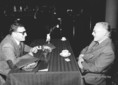 Európai Kulturális Fórum rendezvényén Ungvári Tamás Francis King beszélgetnek