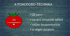Pomodoroval a halogatás ellen