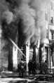 Tűz az újpesti rakparton